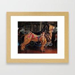 The Lion Framed Art Print