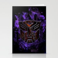 transformers Stationery Cards featuring Autobots Abstractness - Transformers by DesignLawrence