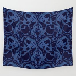 Creepy Marble Wall Tapestry
