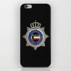 Ministry of interior - Kuwait iPhone & iPod Skin