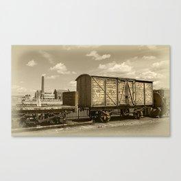 Portsmouth Historic Dockyard Canvas Print