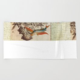 Fish of a Feather Beach Towel