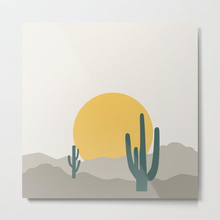 Desert Dreamin' Metal Print