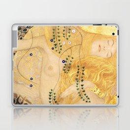 Water Serpents - Gustav Klimt Laptop & iPad Skin