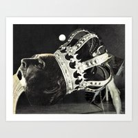 king Art Prints featuring king by Hugo Barros