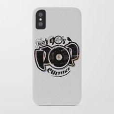 90's pop culture Slim Case iPhone X