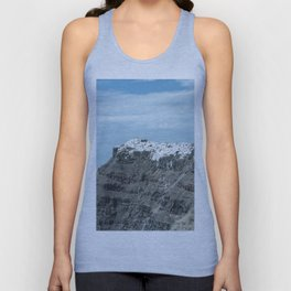 Santorini, Greece 16 Unisex Tank Top