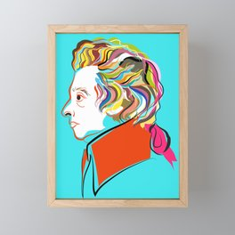 Mozart Framed Mini Art Print
