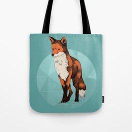Ice Fox  Tote Bag