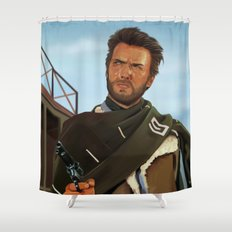 For a fistful of dollars Shower Curtain