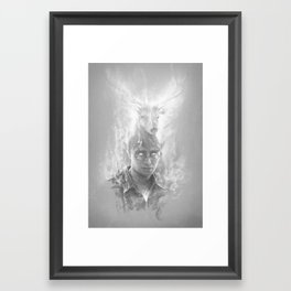 Expecto Patronum Framed Art Print