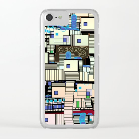 In the Wonderful Chaos Clear iPhone Case