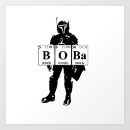 Boba Art Print