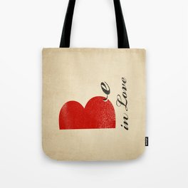 BE IN LOVE Tote Bag