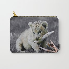 Baby lion cub Carry-All Pouch