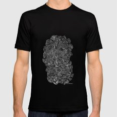 - I see a darkness - MEDIUM Black Mens Fitted Tee