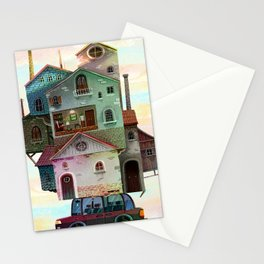 Big portable house Stationery Cards