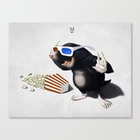3d Canvas Prints featuring 3D by rob art | illustration