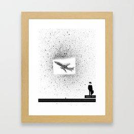 Flight 474 Framed Art Print
