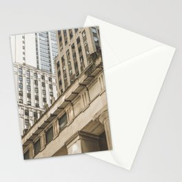 Federal Hall, New York photos, I love NY, Wall street, fine art photo Stationery Cards