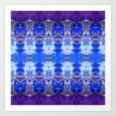 3D Abstract Fractal Art Print
