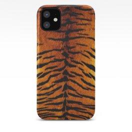 Tiger Skin Print iPhone Case
