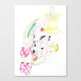 Whe love Fashion 3 Canvas Print