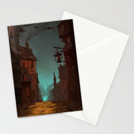 Spooky town Stationery Cards