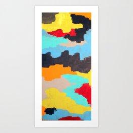 Active Drifting - Bay Series Art Print