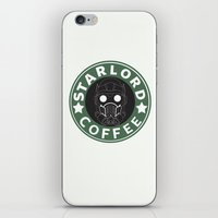 starlord iPhone & iPod Skins featuring Starlord coffee by withoutwax94