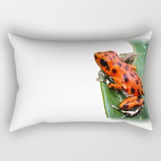 Red Frog Rectangular Pillow