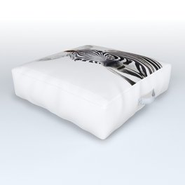 Zebra Outdoor Floor Cushion