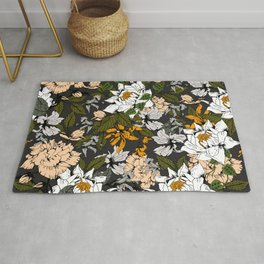 Blooming in autumn I Rug