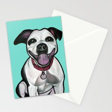 Dolce the Pitbull Stationery Cards