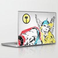 thor Laptop & iPad Skins featuring Thor by Josh Ln