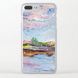 Loch Linnhe Clear iPhone Case