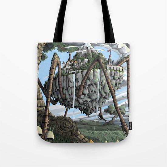 Spiderback Mountain Tote Bag