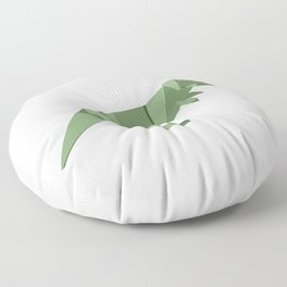 Origami T-Rex Floor Pillow