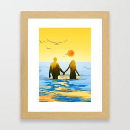 Together till the end Framed Art Print