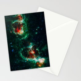 Heart and Soul Nebulae, Galaxy Background, Universe Large Print, Space Wall Art Decor, Deep Space Stationery Cards