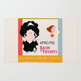 Bacon at Tiffany's Rug