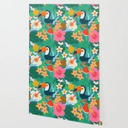 Tropical Flow Wallpaper