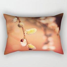 FLUFFY RED Rectangular Pillow