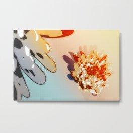 Fiori SqPX 7A Metal Print