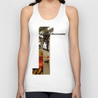 milan Tank Tops featuring milan glitch by Martin Summers