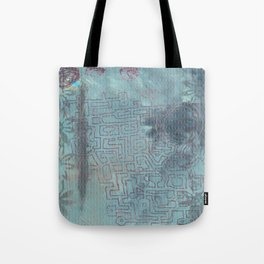 Aether Maze Tote Bag