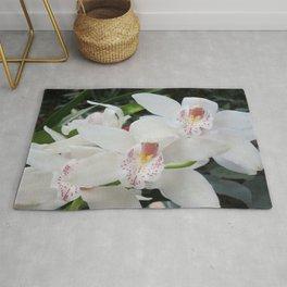 Cymbidium Orchid Rug