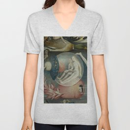 Lovers in a bubble - Hieronymus Bosch Unisex V-Neck
