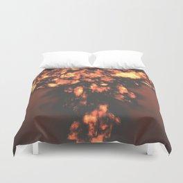 A nuclear explosion Duvet Cover