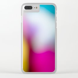 Bunter Traum Clear iPhone Case